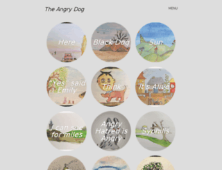 theangrydog.wordpress.com screenshot