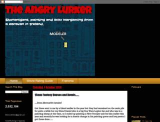 theangrylurker.blogspot.co.uk screenshot