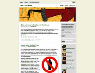 theantiroom.wordpress.com screenshot