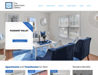 theapartmentgallery.com screenshot