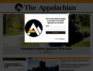 theappalachianonline.com screenshot
