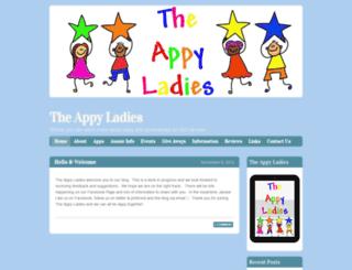theappyladies.wordpress.com screenshot