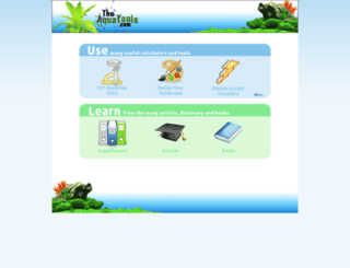 theaquatools.com screenshot