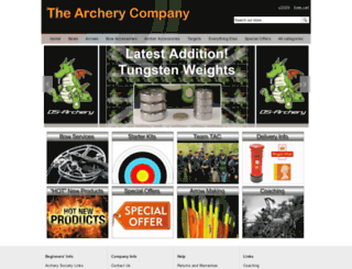 thearcherycompany.com screenshot
