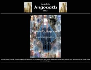 theargonath.cc screenshot