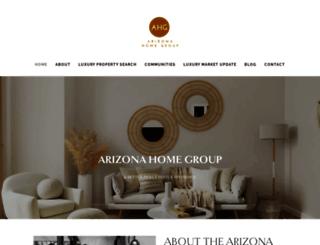 thearizonahomegroup.com screenshot