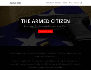 thearmedcitizen.com screenshot