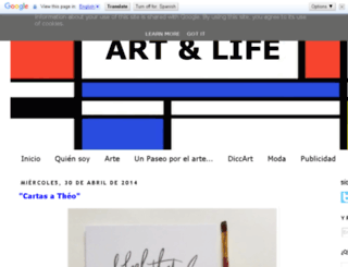 theartandlife.blogspot.com.es screenshot