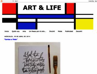 theartandlife.blogspot.com.es screenshot