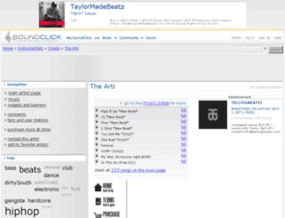 theartimusic.com screenshot
