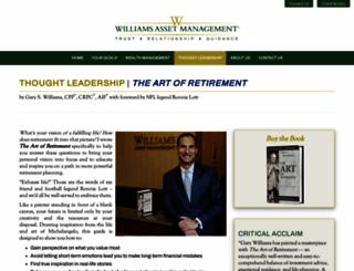 theartofretirement.org screenshot