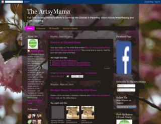 theartsymama.blogspot.com screenshot