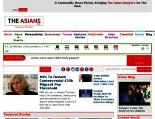 theasians.co.uk screenshot
