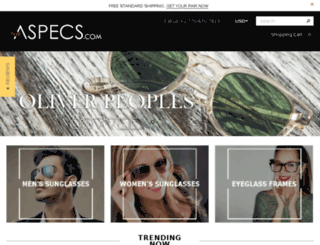 theaspecs.com screenshot