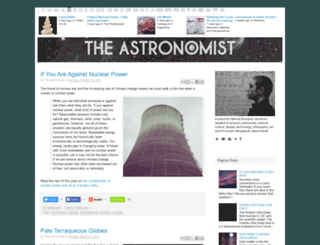 theastronomist.fieldofscience.com screenshot