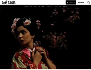 theater-pforzheim.de screenshot