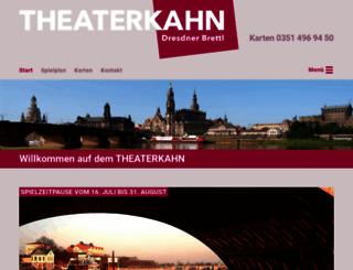 theaterkahn-dresden.de screenshot