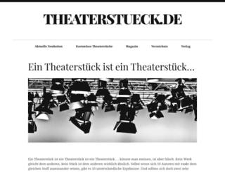 theaterstueck.de screenshot