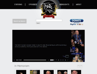 theatertalk.org screenshot