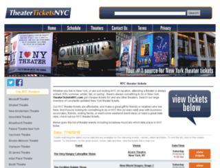 theaterticketsnyc.com screenshot