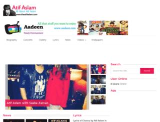 theatifaslam.com screenshot