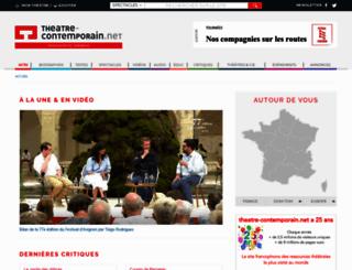 theatre-contemporain.net screenshot
