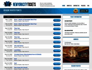 theatre-ny.com screenshot