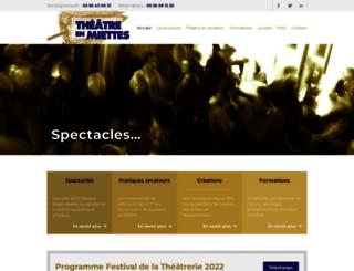 theatreenmiettes.org screenshot