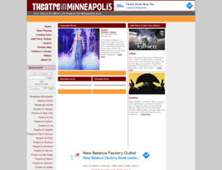 theatreinminneapolis.com screenshot