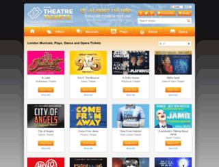 theatretickets.uk screenshot
