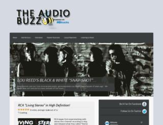 theaudiobuzz.com screenshot