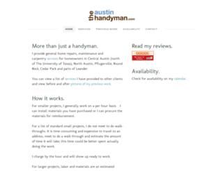 theaustinhandyman.com screenshot