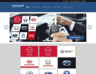 theautomall.co.za screenshot