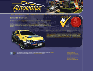 theautomotivespecialist.com.au screenshot