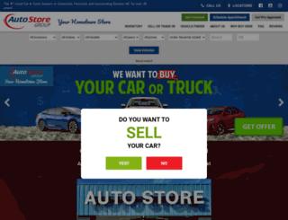 theautostoregroup.com screenshot