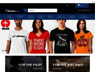 theaviatorstore.com.au screenshot