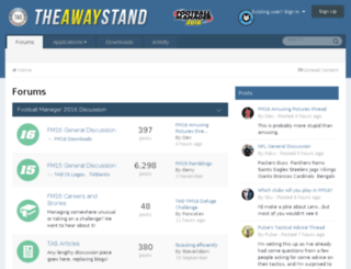 theawaystand.co.uk screenshot