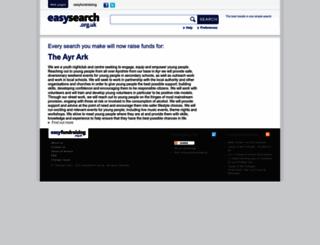 theayrark.easysearch.org.uk screenshot