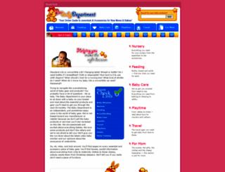 thebabydepartment.com screenshot