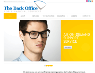 thebackofficefs.com.au screenshot