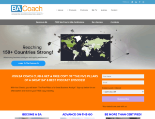 thebacoach.com screenshot