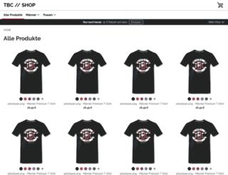 thebacorner.spreadshirt.de screenshot