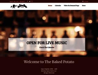 thebakedpotato.com screenshot