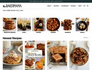 thebakermama.com screenshot