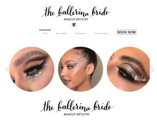 theballerinabride.com.au screenshot