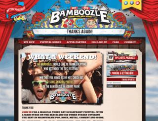 thebamboozle.com screenshot