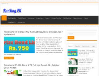 thebank.pk screenshot