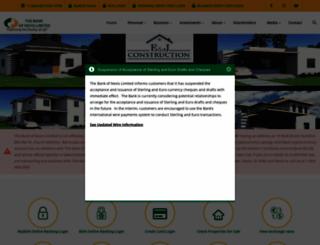 thebankofnevis.com screenshot
