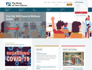 thebankofnewglarus.bank screenshot