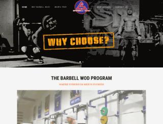 thebarbellwod.com screenshot